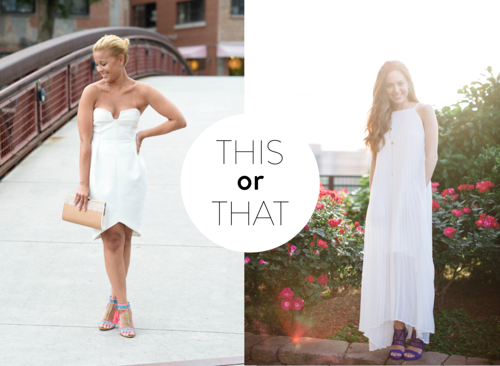 this or that: summer white